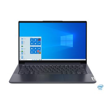 "PC Ultra-Portable Lenovo Yoga Slim 7 14IIL05 14"" Intel Core i5 8 Go RAM 512 Go SSD Gris"