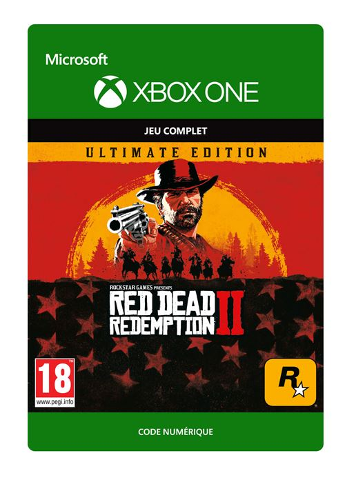 Code de téléchargement Red Dead Redemption 2 Ultimate Edition Xbox One