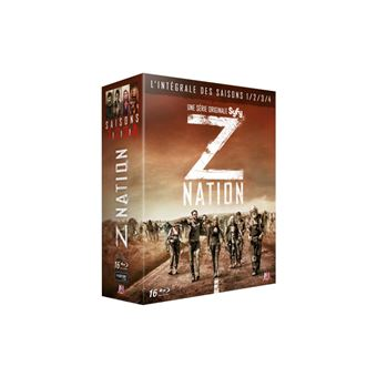 Z NationZ Nation Saisons 1 à 4 Blu-ray