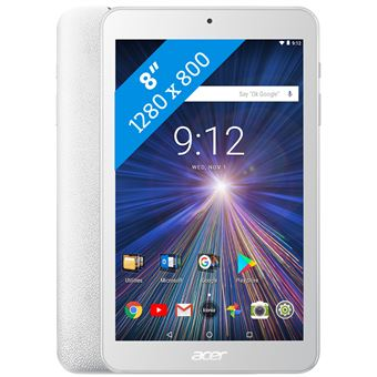 """Acer Iconia One 8 Tablet 16GB White 8"""""""