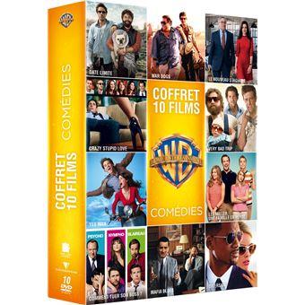 Coffret Comédie 10 films DVD