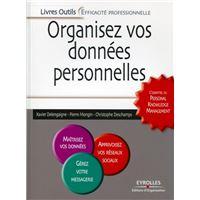 Organisez vos données personnelles