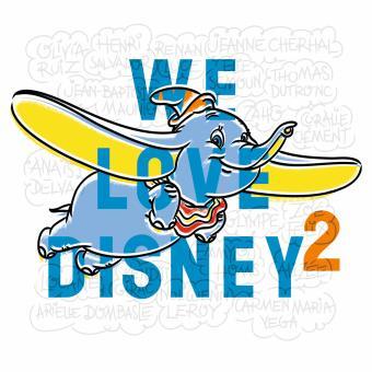 We love Disney volume 2 - Edition sous fourreau en tirage limité