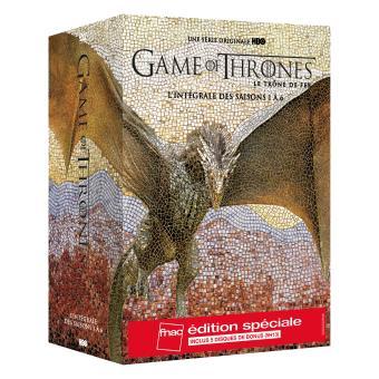 Le trône de ferGame of Thrones Intégrale des saisons 1 à 6 Edition spéciale Fnac DVD