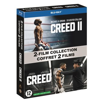 RockyCoffret Creed et Creed II Blu-ray