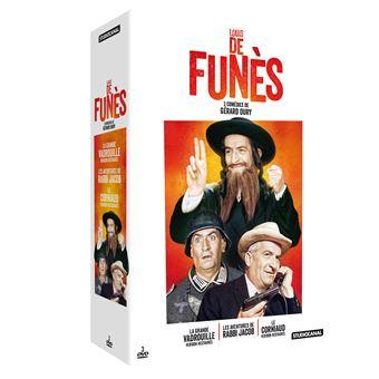 Coffret Louis de Funès 3 films DVD