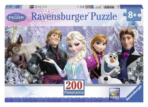 Puzzle 200 pièces XXL Ravensburger Arendelle sous neiges éternelles Disney Frozen La Reine des Neiges