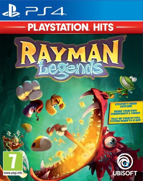 Rayman Legends PlayStation Hits PS4