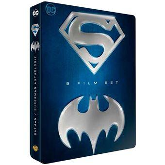 BatmanCoffret Batman Superman DVD