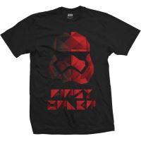 T-Shirt Born Authentic Star Wars Episode 8 BB8 Gold Homme Taille L Noir