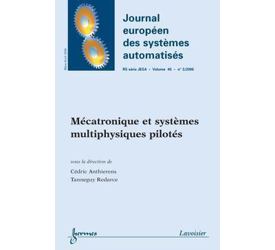 Mecatronique et systemes multiphysiques pilotes journal euro