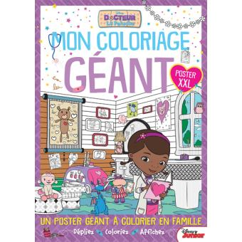 Docteur La Peluche Doc La Peluche Mon Coloriage Geant Walt Disney Compagny Broche Achat Livre Fnac