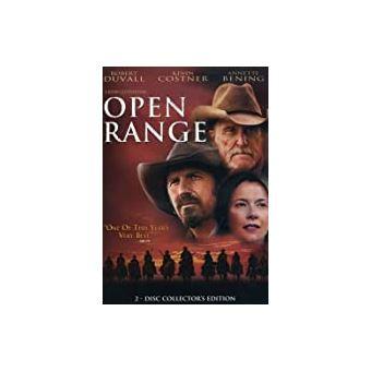 Open range - DVD Zone 1