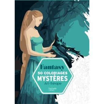 50 Coloriages Mysteres Fantasy Broche Capucine Sivignon