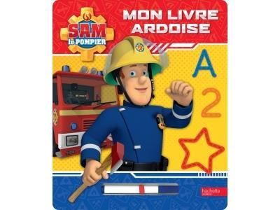 Sam le pompier -  : Sam le pompier - Mon livre ardoise