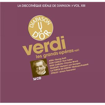 Discotheque ideale de diapason vol 13/grands operas