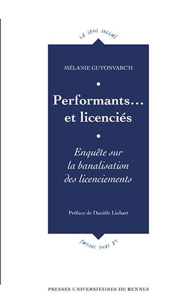 Performants et licencies