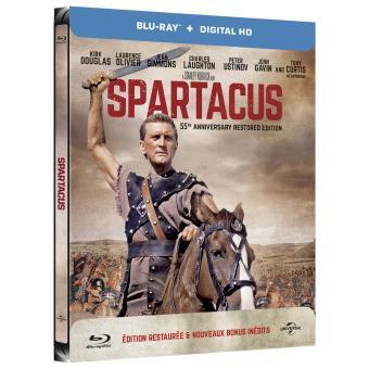 Spartacus Edition 55ème anniversaire Steelbook Blu-ray + UV