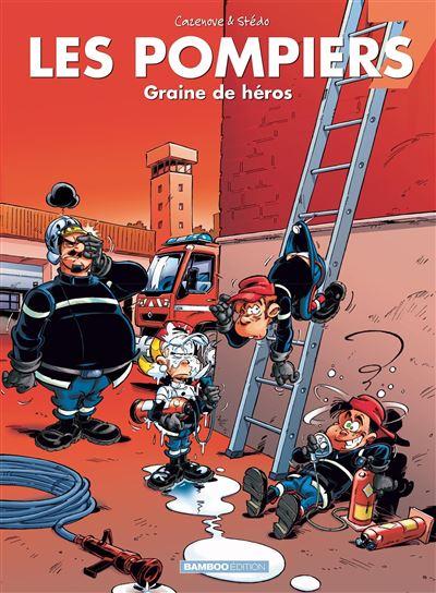 Les Pompiers - Graine de héros