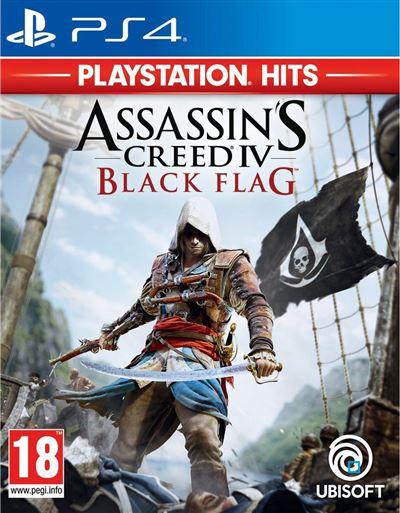 Assassin's Creed IV Black Flag PlayStation Hits PS4