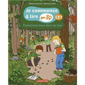 Je commence à lire en BDPerdus en forêt CE1