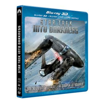 Star TrekStar Trek Into Darkness Combo Blu-Ray 3D + DVD