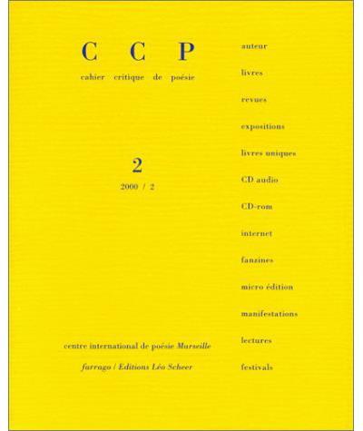 Cahiers critiques de poésie