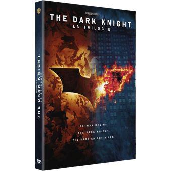 BatmanCoffret The Dark Knight La trilogie Edition Fourreau DVD