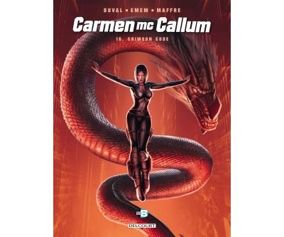 Carmen Mc Callum 16. Crimson Code