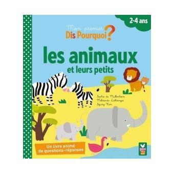 Les animaux et leurs petits - livre à volets