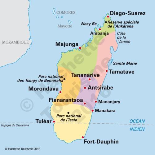Carte Madagascar Routard.Guide Du Routard Madagascar 2016