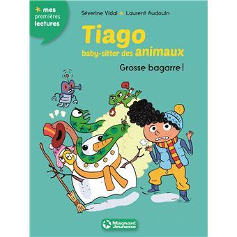 Tiago, baby sitter des animauxGrosse bagarre !