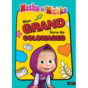 Masha et MichkaMasha et Michka - Mon grand livre de coloriages