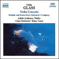 Concerto pour violon - Company - Akhnaten, Prélude et Danse