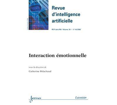 Interaction emotionnelle revue d'intelligence artificiellers