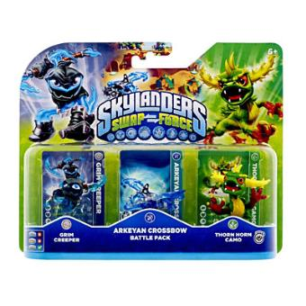 Pack skylanders swap force arkeyan crossbow battle pack - Jeux gratuits skylanders ...