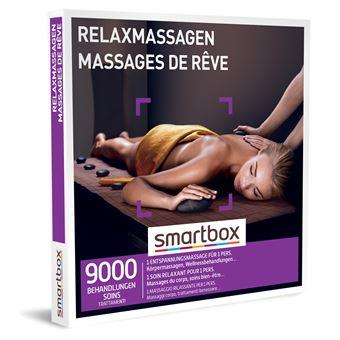 Coffret cadeau Smartbox Massages de rêve
