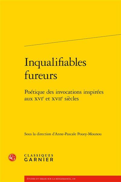 Inqualifiables fureurs