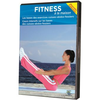 fitness la maison les bases des exercices cuisses abdos fessiers dvd dvd zone 2 achat. Black Bedroom Furniture Sets. Home Design Ideas