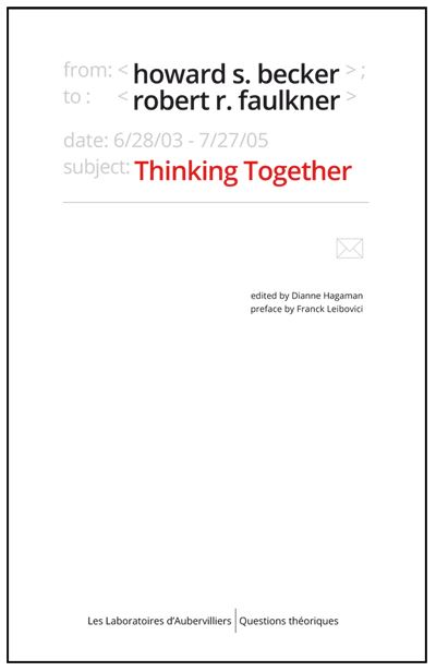 Thinking together, an e-mail exchange