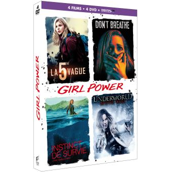 Coffret Girl Power DVD