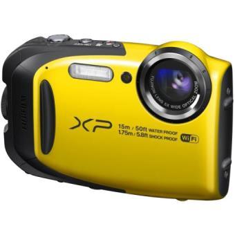 Appareil photo compact fujifilm finepix xp80 jaune for Appareil photo fujifilm finepix s2000hd