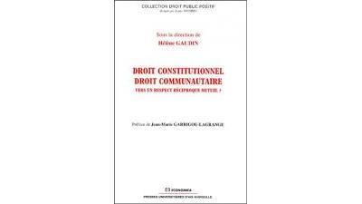 Droit constitutionnel - Droit communautaire
