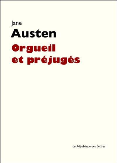 Orgueil et préjugés - 9782824903651 - 4,99 €