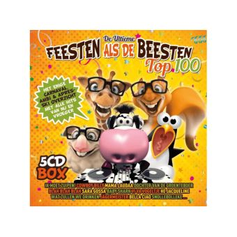 DE ULTIEME FEESTEN ALS DE BEESTEN TOP 100/5CD