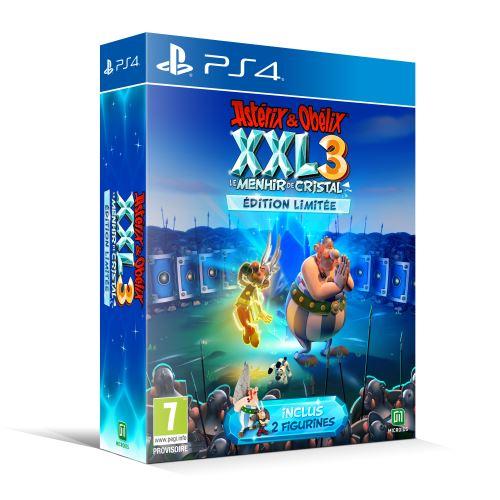 Astérix et Obélix XXL 3 Le Menhir de Cristal Edition Limitée PS4
