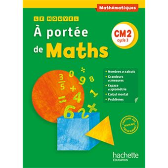le nouvel a port 233 e de maths cm2 livre 233 l 232 ve edition 2016 broch 233 leclec h jean