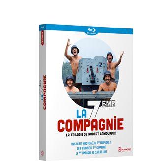 Coffret La 7 ème compagnie Blu-ray