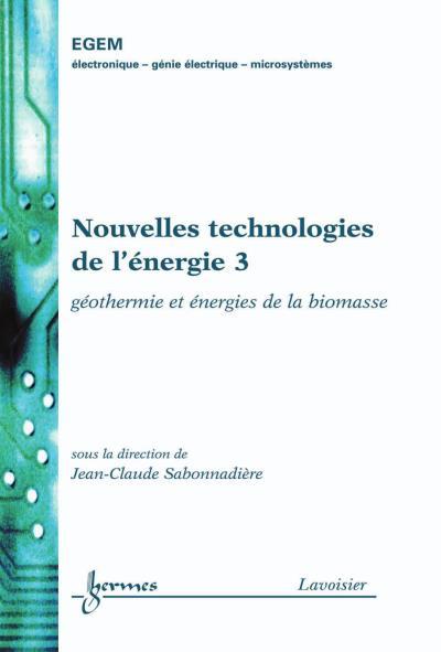 Nouvelles technologies de l'energie 3 geothermie energies de