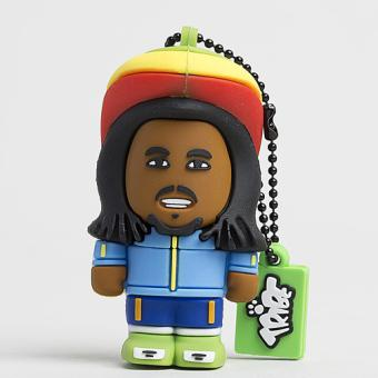 Clé USB Tribe ToonStar Rasta, 4 Go